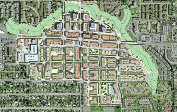 Aldergrove Core Area Plan Illustration