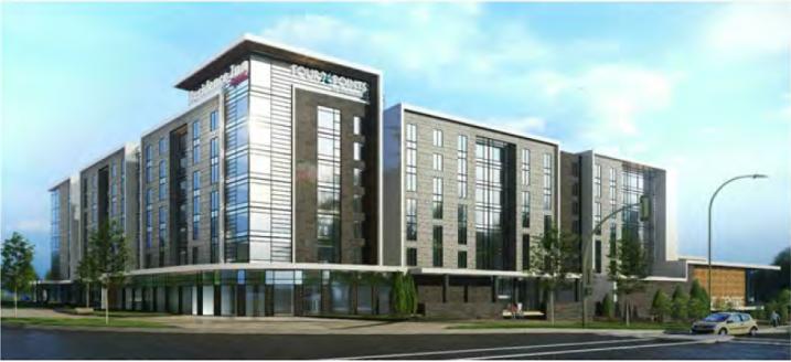 Mitchell hotel rendering