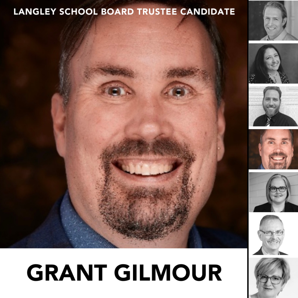 Candidate: Grant Gilmour